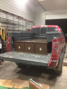 DIY Home Decorations Blog  Slide out toolboxes for 1/2 ton truck  http://ift.tt/2pniiMQ