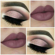 Find more information on face & eye makeup Makeup 101, Basic Makeup, Makeup Goals, Skin Makeup, Makeup Inspo, Makeup Inspiration, Eyeshadow Makeup, Beauty Makeup, Eyeshadows