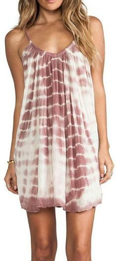 Beautiful Tie Dyed Summer Dress by *take*a*look*