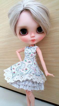 Blythe Dress :Blue Dress Set A by FluffyFreedom on Etsy