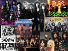 rock bands of the 80's | Share