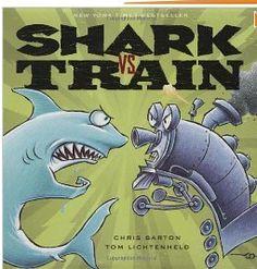 Susanna Leonard Hill: Perfect Picture Book Friday - Shark Vs. Train (ages 4-8)
