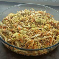 Receita de Salada de acelga e cenoura agridoce.