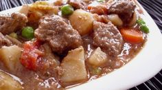 Poor Girl's Beef Stew