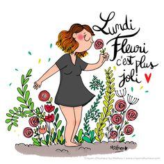 CDH: Lundi avec des fleurs