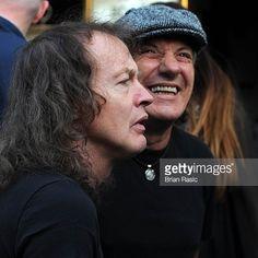 ANGUS YOUNG - BRIAN JOHNSON AC/DC