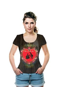 By Christa Meyer. All Over Printed Art Fashion T-Shirt by OArtTee! Sparrow Art, Photo Composition, Ball Lights, Vintage Valentines, Valentine Heart, Fashion Art, T Shirts For Women, Water Temple, Celebrities