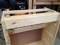 Apothecary Cabinet Ikea Rast Hack #PaintJob #IkeaRastHack