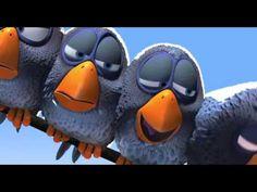 *▶ Voor de Vogels - Een korte animatiefilm van Pixar - YouTube