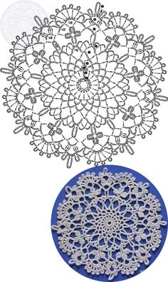 New crochet blanket flower ganchillo 15 ideas Crochet Snowflake Pattern, Crochet Mandala Pattern, Crochet Snowflakes, Granny Square Crochet Pattern, Crochet Diagram, Crochet Squares, Crochet Chart, Thread Crochet, Crochet Doilies