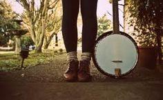 fall hipster feet plus a banjo :)