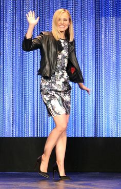 """Kristen Bell at the Paley Center For Media's PaleyFest 2014 Honoring """"Veronica Mars"""". Styled by Nicole Chavez."""