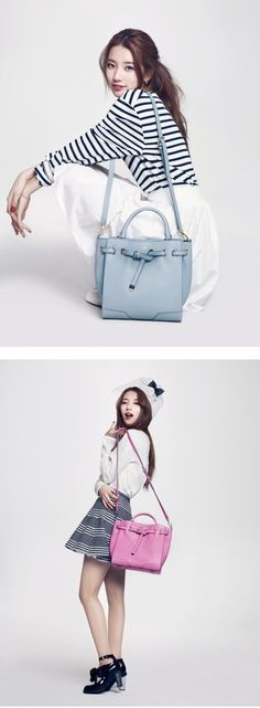 Suzy looks fresh and lovely for 'Bean Pole Accessory'