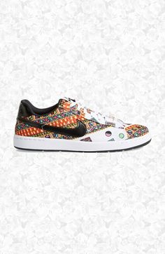 "Exclusive Liberty of London Nike ""Merlin print"" sneakers.  Adding these to the shoe collection!"