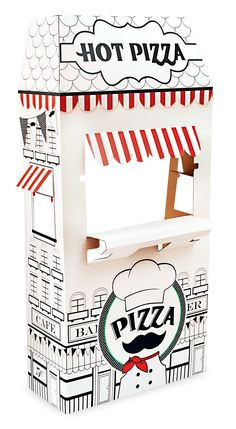 Itzza Pizza Party - Cardboard Standup from BirthdayExpress.com