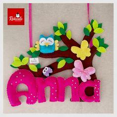 #fattoamano #handmade #reikoale #creazioni #pannolenci #feltro #nome #culla #banner