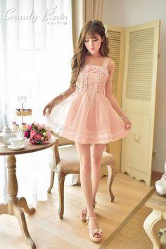 Mango Doll - Sweet Chiffon Petal Edge Dress, $46.00 (http://www.mangodoll.com/all-items/sweet-chiffon-petal-edge-dress/)