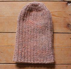 FREE Knitting Pattern - Beanie Hat - ManKnit.co.uk