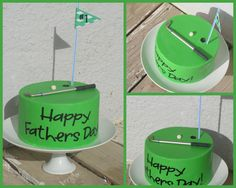 #Golf #Cake #Fathers #Day