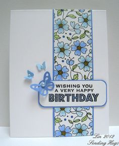 HA wallpaper flowers stamp: by quilterlin, via Flickr