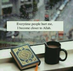 Perhaps 'hurt' is His way of bringing people close..