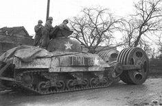 Sherman Tank Normandy 1944