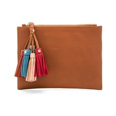Sancia Daydream Clutch ($67) ❤ liked on Polyvore featuring bags, handbags, clutches, real leather purses, genuine leather purse, real leather handbags, leather purses and genuine leather handbags