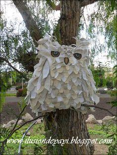 De Todo Un Poco: TUTORIAL: OWL CUSHION LINEN