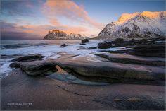 Uttakleiv, Lofoten Norway. Photo; von Andrea Schwyter