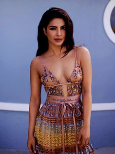 Priyanka Chopra cleavage