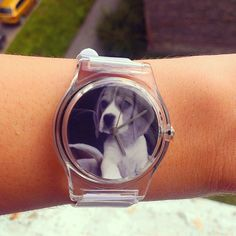 My @MAY28TH | InstaWATCH #beagle watch just arrived. Looks even better than expected, and she loved the present. via @raitisd