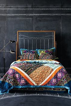 I think I just found the perfect bedding for my new bedroom! So inspired! I love Anthropologie!