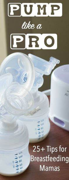 Breast pumping tips for new moms - everything you need to know! via @clarkscondensed