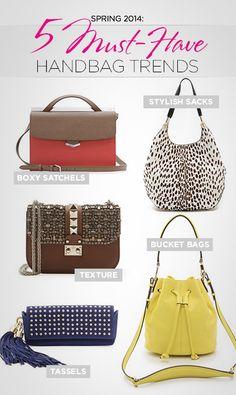 e6f3f8231d1c Spring 2014  5 Must-Have Handbag Trends Spring 2014