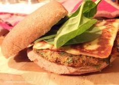Masala Burgers with Grilled Paneer and Cilantro Chutney Mayo - Connoisseurus Veg