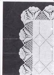 Captivating Crochet a Bodycon Dress Top Ideas. Dazzling Crochet a Bodycon Dress Top Ideas. Crochet Lace Edging, Crochet Borders, Crochet Stitches Patterns, Thread Crochet, Crochet Trim, Filet Crochet, Crochet Doilies, Stitch Patterns, Knitting Patterns