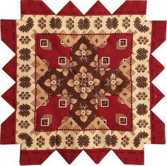 Lucy Boston POTC Block 40 from Pieceful Gathering Quilt Shop.  Kit available - call  847-516-7911