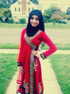 ec244802e4 Outfits  What   How To Wear Hijab For Eid ul-Fitr 2015 - HijabiWorld