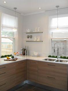 Toronto Interior Design Group - Modern L shaped kitchen design with European kitchen ...