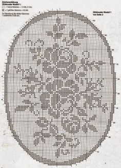 This filet doily would make a gorgeous rug Filet Crochet Charts, Crochet Doily Patterns, Crochet Cross, Crochet Diagram, Crochet Home, Thread Crochet, Crochet Motif, Crochet Designs, Crochet Doilies