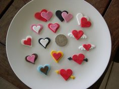 Valantine's day cupcake toppers | These designs can be made … | Flickr