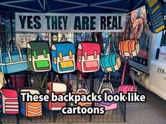 Cartoon Style Messenger Backpack