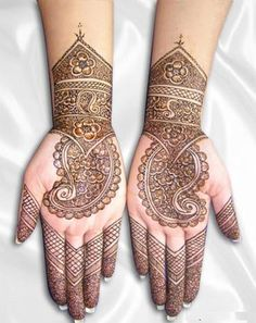 Trendy Mehandi Art Henna for Brides