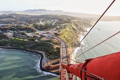 Photography from the top of the world's most famous bridge by Steve Mnich