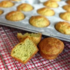 Cheesy pesto savoury muffins! at lili's cakes #homemadepesto #pesto #savourymuffins #easy #recipe