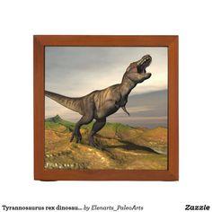 Tyrannosaurus rex dinosaur - 3D render Desk Organizer