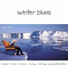 EDGAR WINTER Promo CD Winter Blues Ex / M- Johnny, Rick Derringer, Dr. John RARE