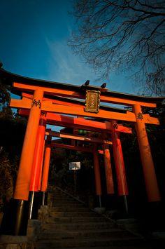 Fushimi Inari shrine, Kyoto, Japan 伏見稲荷大社 京都