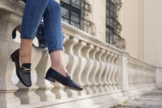 Topshop karter loafers as seen on Beeswonderland Really Funny, Topshop, Loafers, Shoes, Fashion, Travel Shoes, Moda, So Funny, Zapatos