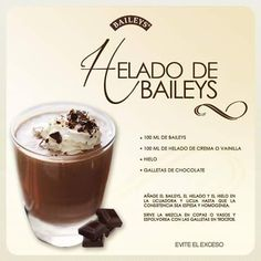 Licor Baileys, Baileys Drinks, Baileys Recipes, Cocktail Drinks, Alcoholic Drinks, Beverages, Baileys Irish Cream, Holiday Drinks, Food Humor
